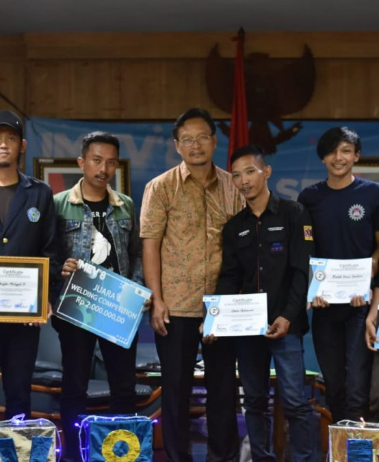 Juara 1 dan 2 Welding Competition IMEV
